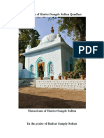 Biography of Hadrat Sangde Sultan Qandhar