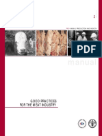 FAO Manual Gmp Meat