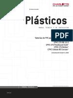 Ficha Tecnica Pvc y Procesos de Instalaciones