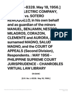 [g.r. No. L-8328. May 18, 1956.] Manila Electric Company, Petitioner, Vs. Sotero