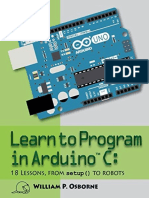 William P. Osborne - Learn to Program in Arduino C
