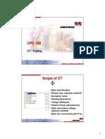 CPC100 (CT Testing)