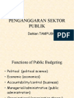 Public Budget Uni Bra