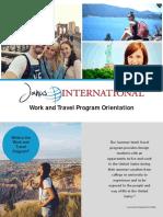 orientacion para work travel janus