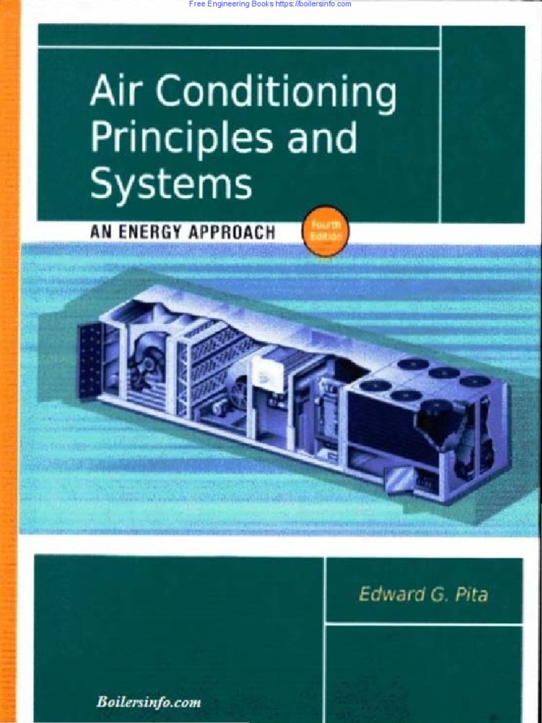Air Conditioning Principles And Systems By Edward G Pita Furnace Air Conditioning