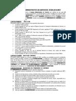 Contrato Administrativo de Servicios - Gerencia de Acondicionamiento Territorial Listo