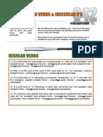 042 - Regular-irregular v Differences