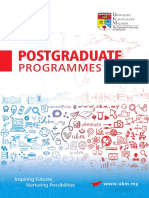2018 Postgraduate 3110