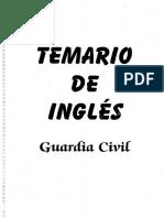 temario ingles