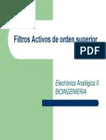 filtros activos