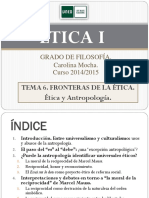 ÉTICA I. Tema 6. 2014-15