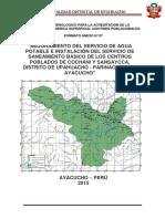 Estudio Hidrologico Tramite Del Ana Modelo