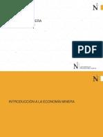 2.0 Introducción a La Economía Minera