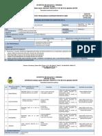 Planificación PEA Diagnóstico de Fallas Del Sistema Eléctrico