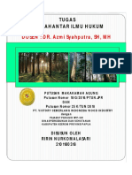 Makalah PT. Victoria Cemerlang vs Dinas Perkebunan Dan kehutan Papua