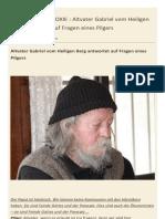 Altvater Gabriel Antwortet Auf Fragen Eines Pilgers