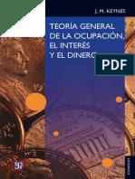 Teoría general de la ocupación, el interés y el dinero - John Maynard Keynes.epub
