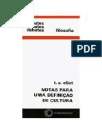 ELIOT, T.S. Notas para a Definição de Cultura.pdf