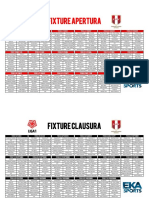 Fixture Liga 1