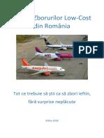 Ghidul Zborurilor Low-cost 2018