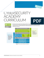 Cybersecurity Academy Curriculum