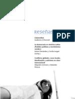 """""""Conflictos Globales, Voces Locales. Mobilización y activismo en clave trasnancional"""" - Alejandro Grimson y Sebastián Pereyra (compiladores) - 2008 - Reseña de Libro"""