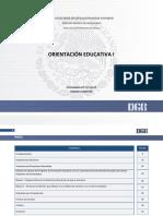 Programa de Orientación Educativa I