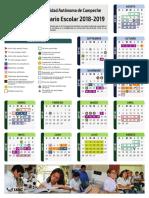 Calendario Escolar 2018-2019 UAC