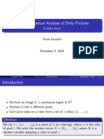 Statistical Analysis of Dirty Pictures