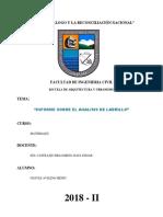 Informe Sobre El Analisis Del Ladrillo