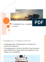 Commercial Correspondence General