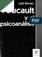 Birman - Foucault y El Psicoanalisis