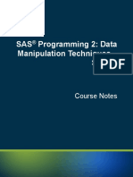 Sas Syntax Review