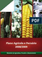 Plano Agrícola e Pecuário - 2008-2009