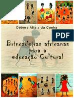 E-book Brincadeiras Africanas Para a Educação Cultural