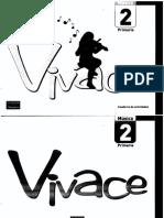 Vivace Cuaderno de Actividades Musicales 2