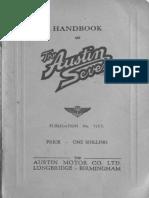 Austin 7 Handbook