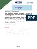 Materia 1 - Módulo de Pedagogía