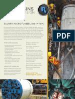 US Slurry-Microtunneling SpecSheet