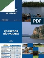 Se presentó la Guía Digital de Campings y Balnearios de Misiones