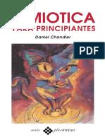 CHANDLER Daniel - Semiotica Para Principiantes