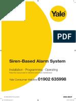 Yale Standard Alarm Manual
