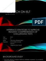 Research on ELT New