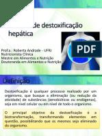 Sistema de Destoxificacao Hepatica