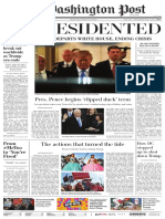 Unpresidented Washington Post (Sin presidencia en EEUU)