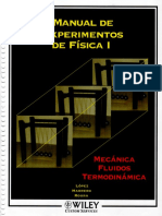 Manual de Experimentos de Física I