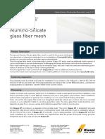 Alumino Silicate Fibre Mesh Product Data