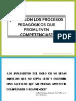 5. Ppt Procesos Pedaggicos