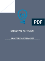 Starting out with effective altruism