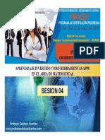 Sesion 04 Ga-20 Aplicaciones Moviles -2019